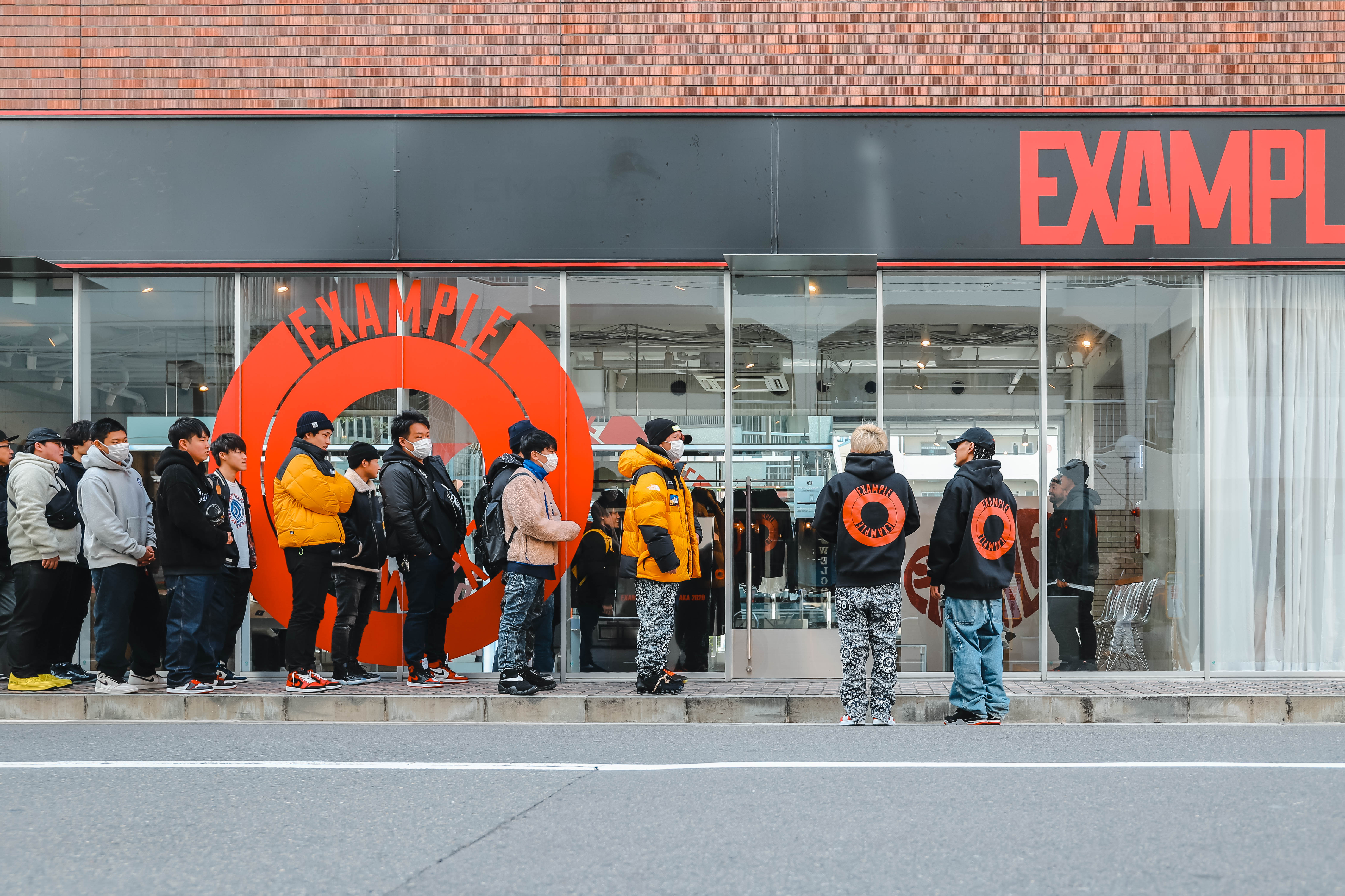 EXAMPLE POP UP STORE