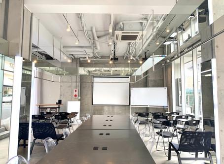 難波貸し会議室・セミナールーム -  カフェ・キッチンスペースが常設!