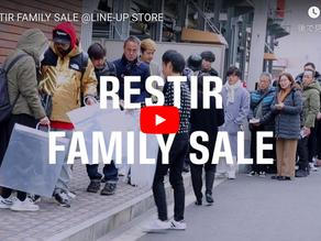 【DigestVideo】RESTIR FAMILY SALE