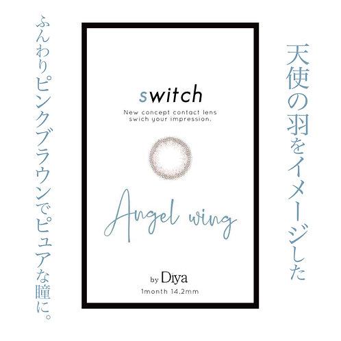 スイッチ by ダイヤ【エンジェルウィング】度あり/1ヶ月/1箱1枚入り
