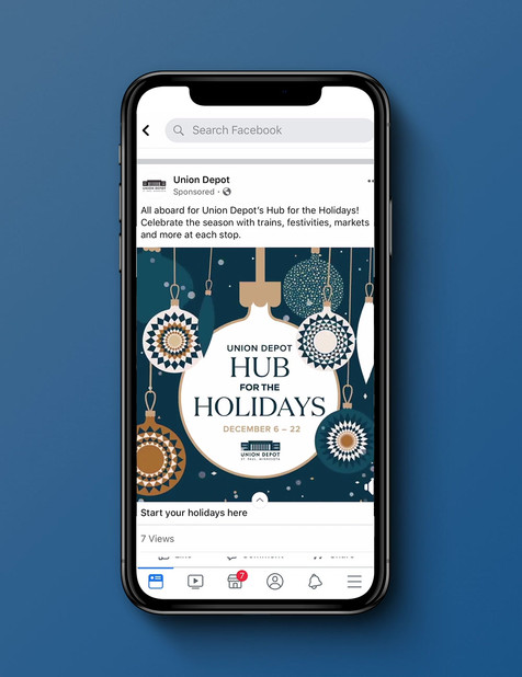Union Depot Hub for the Holidays