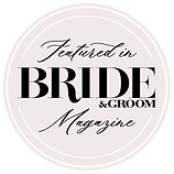 Bride&GroomMag Featured BadgeColour www.