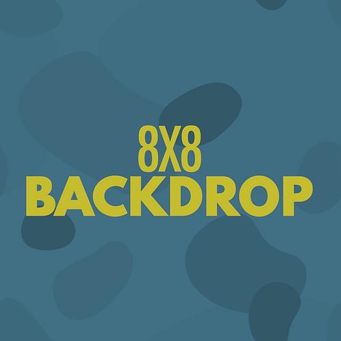 8x8 Backdrop