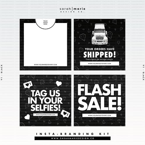 Insta-Branding Kit V1 [Black]