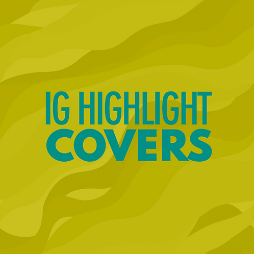 IG Highlight Covers