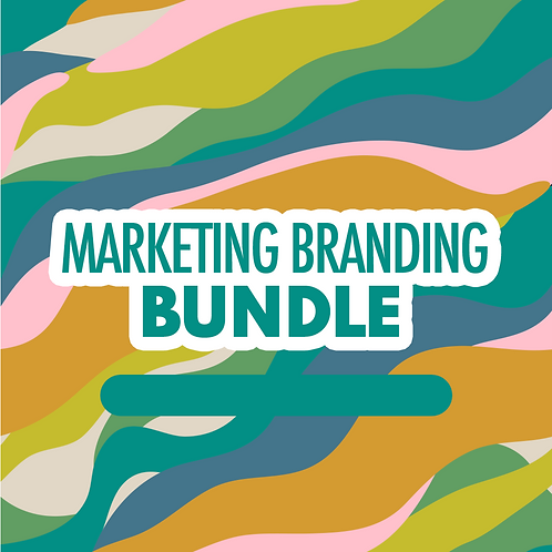 Marketing Branding Bundle (Choose 3)
