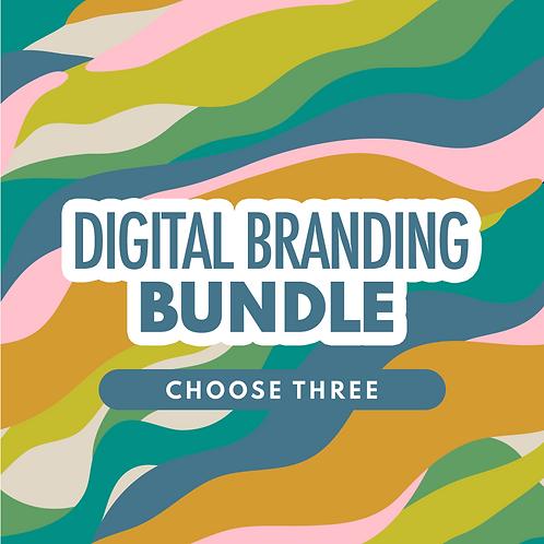 Digital Branding Bundle (Choose 3)