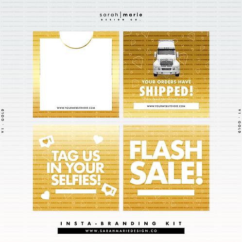 Insta-Branding Kit V1 [Gold]