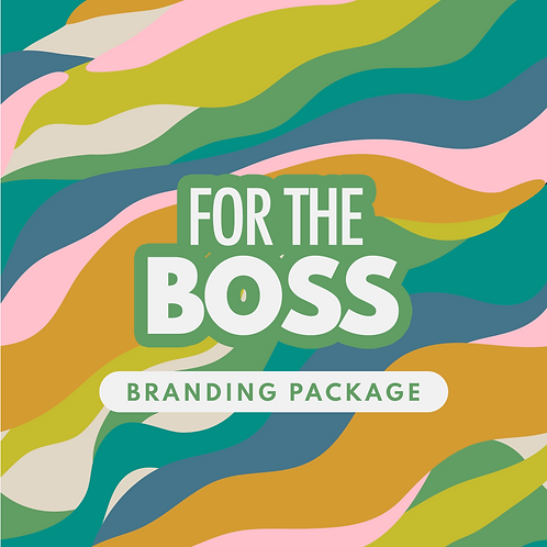 ' For the Boss' Branding Suite