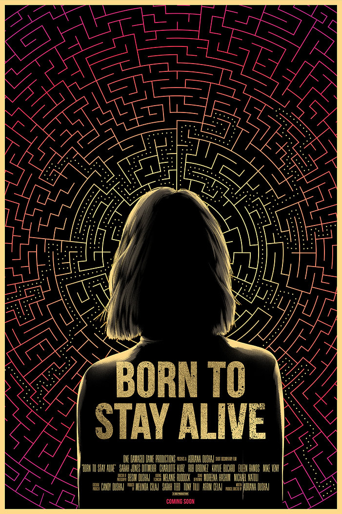 Born to Stay Alive Official Movie Poster
