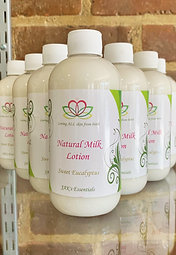 JAK's Natural Milk Lotion