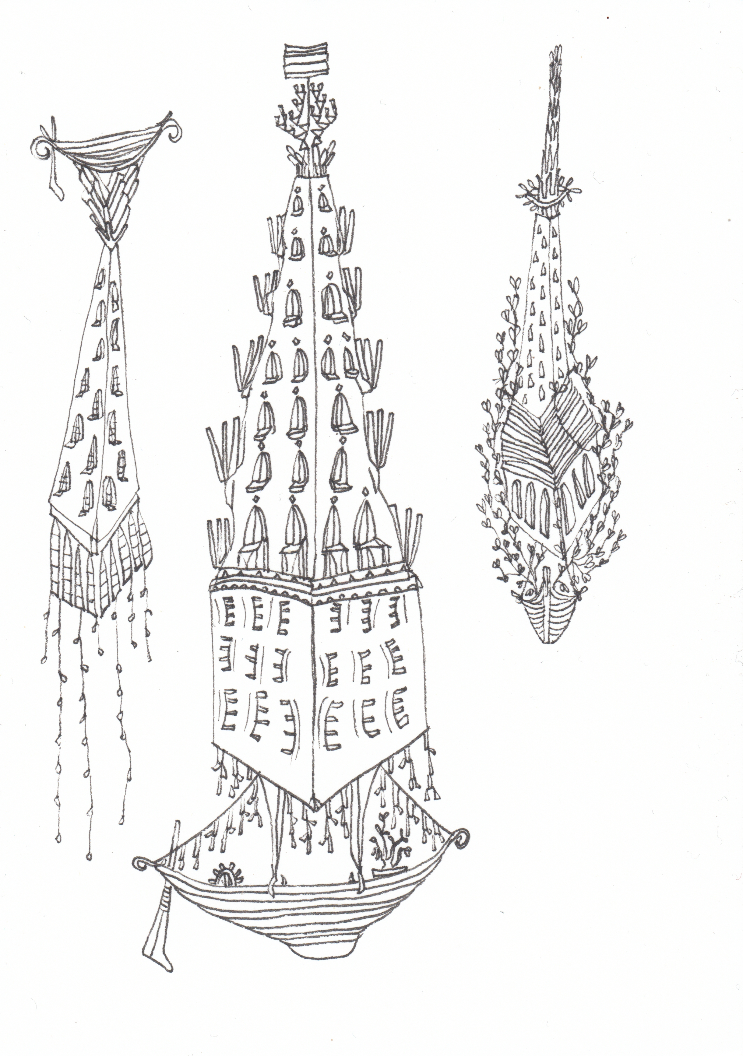 Flying Towers