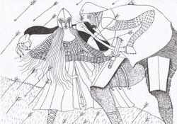 Arwen in Battle