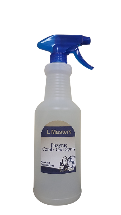 Lice Masters Enzyme Comb-Out Spray