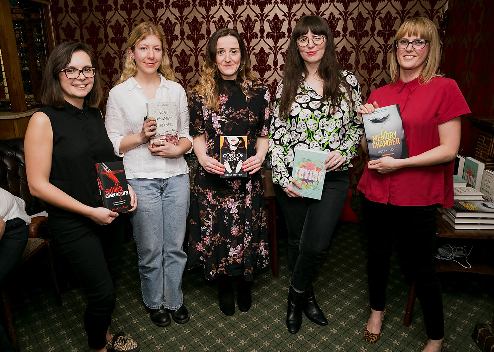 The Riff Raff March debut authors