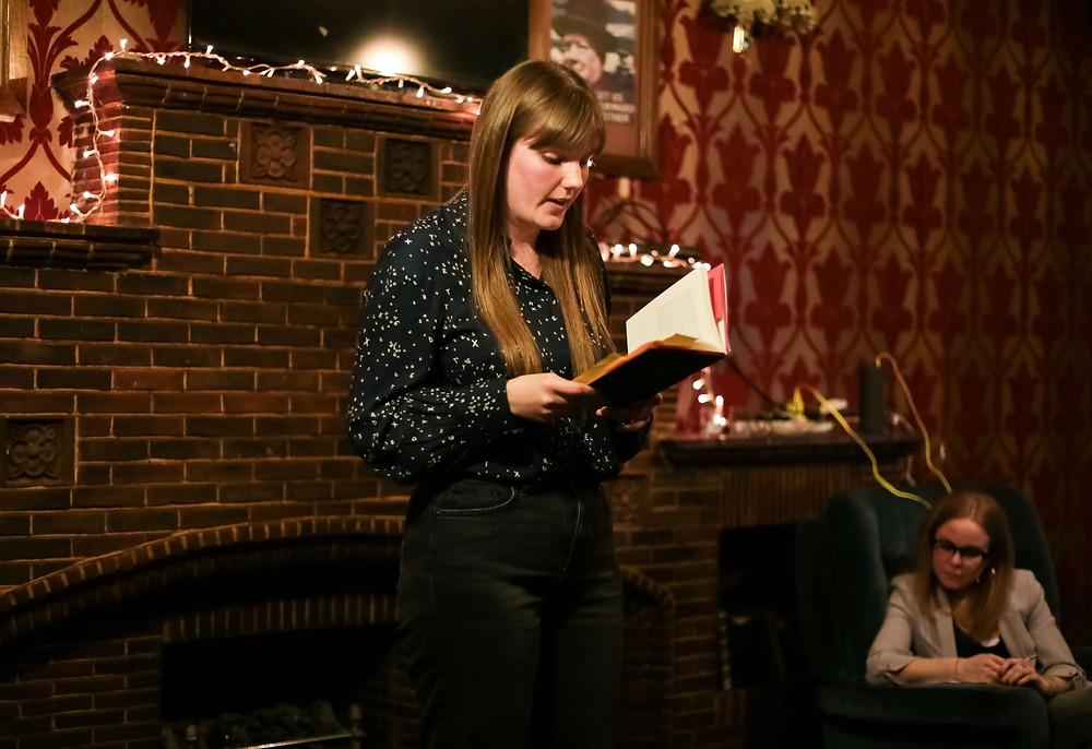 Emma Glass at The Riff Raff January