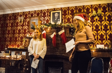 Here's everything that happened at our festive December meet up