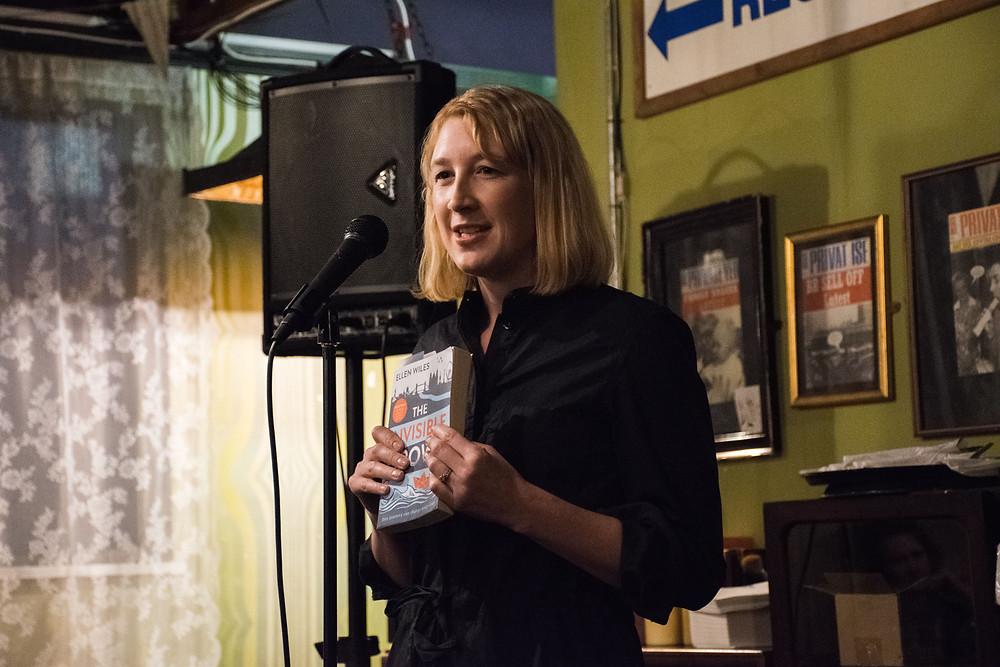 Ellen Wiles at The Riff Raff August 2018