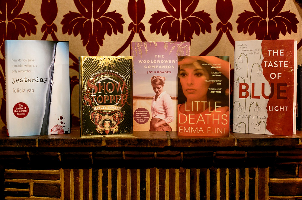 Debut novels at The Riff Raff September