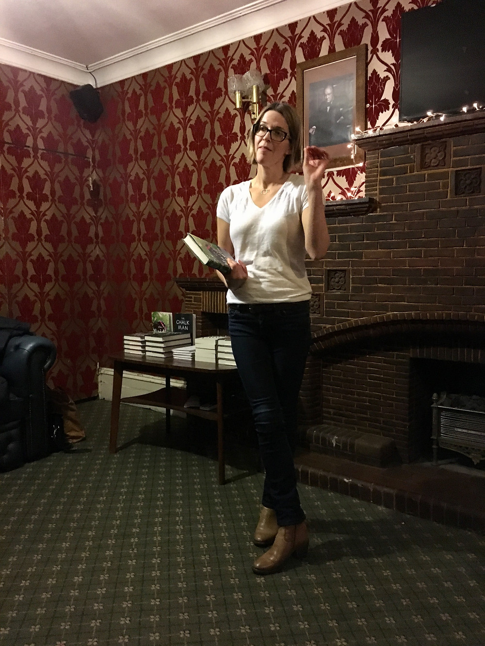 Fiona Mitchell at The Riff Raff January