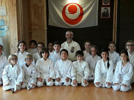 Karate como parte del aprendizaje