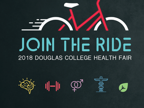 Douglas College Health Fair: Join the Ride!