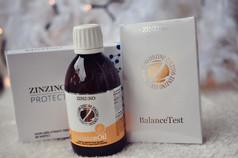 Vánoční balíček BalanceOil & Protect+ & BalanceTest