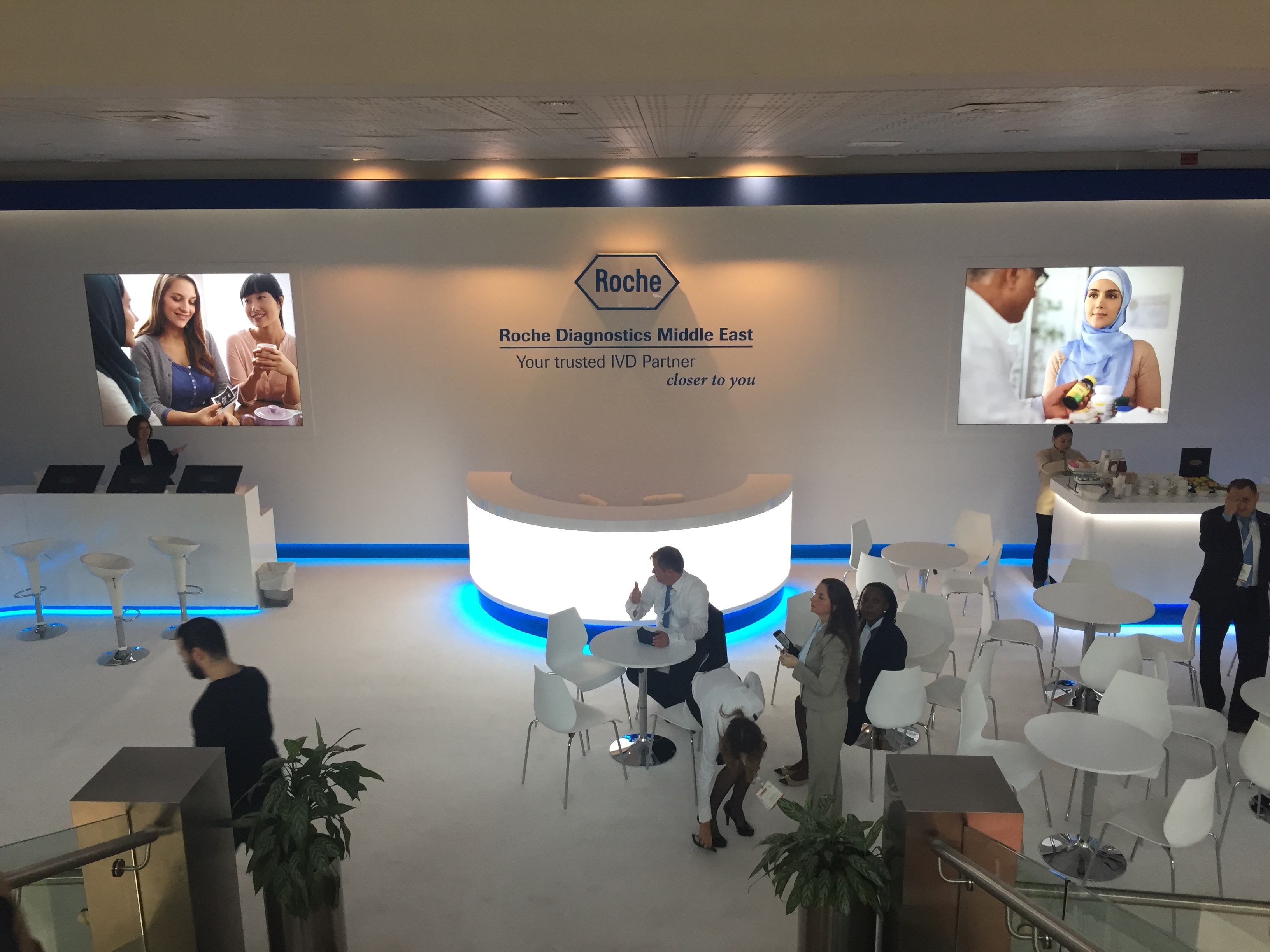 Roche Arab Health Lounge UAE