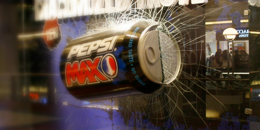 Pepsi Max Re-Launch