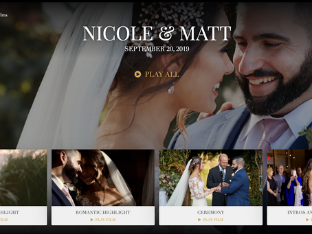 Stream Your Wedding Film To Your Television Easily