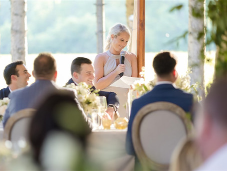 Tips For Memorable Wedding Day Toasts (The Good Kind of Memorable)