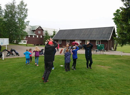 Sommeravslutning for knøttegolfen 30. juni