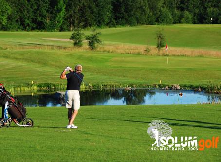 Kom i gang med golf på Solum i år