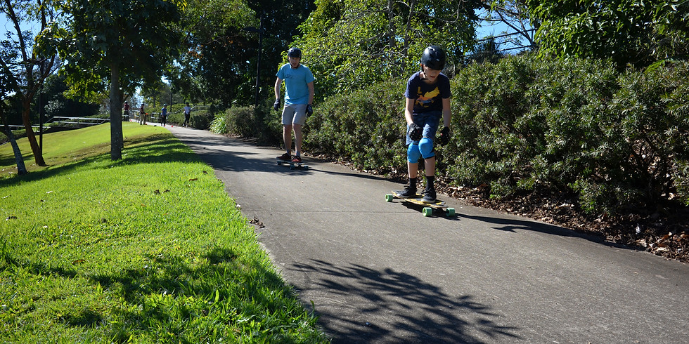 Chillout - Learn How to Longboard - Basics - 10-17 yrs