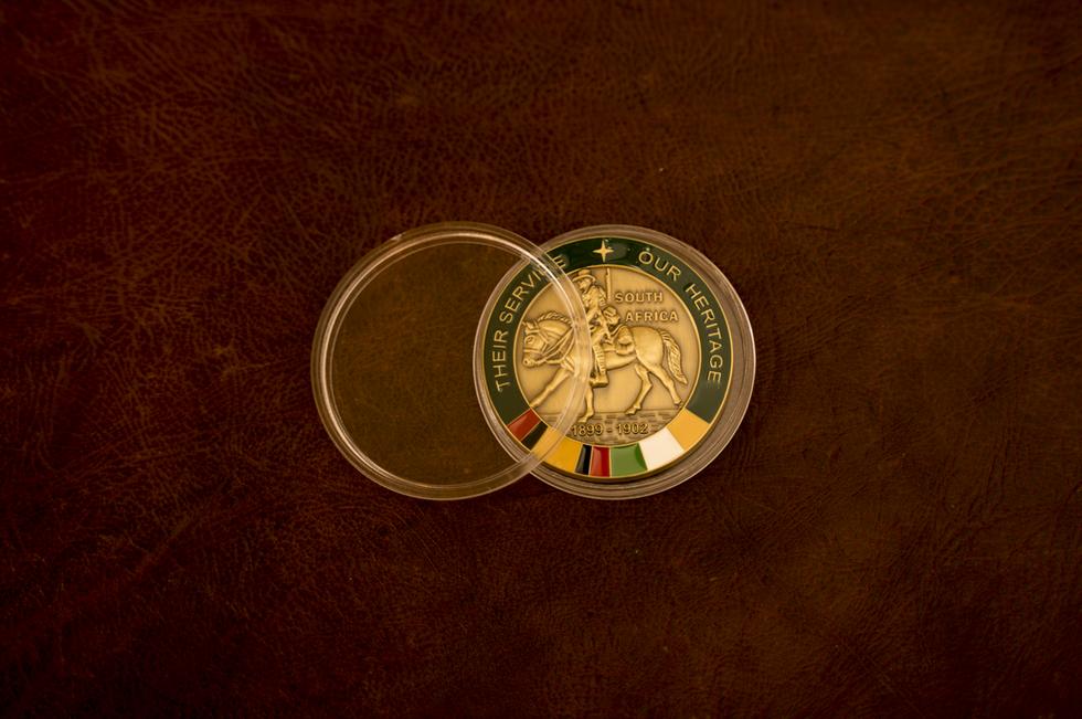 Acrylic medal case
