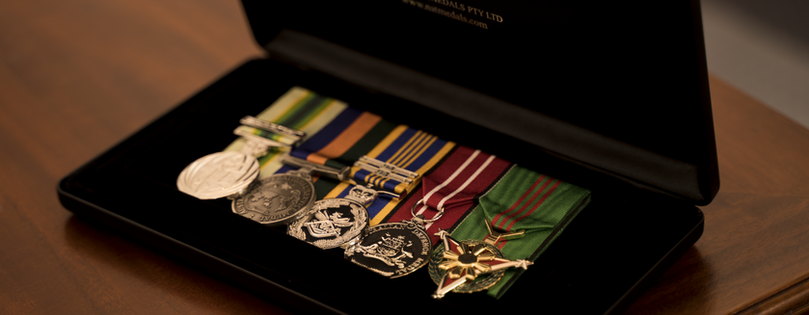 Military Medals Case