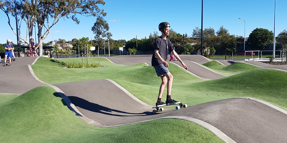 Learn How to Longboard - Pump Track Edition