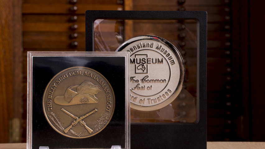Medal awards in cases