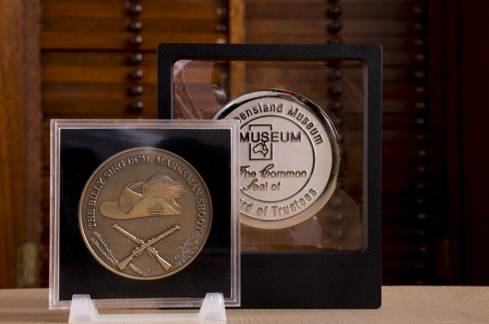 Acrylic medal cases