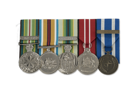 Researching a Relatives Military Medal Entitlements for Replica Medals