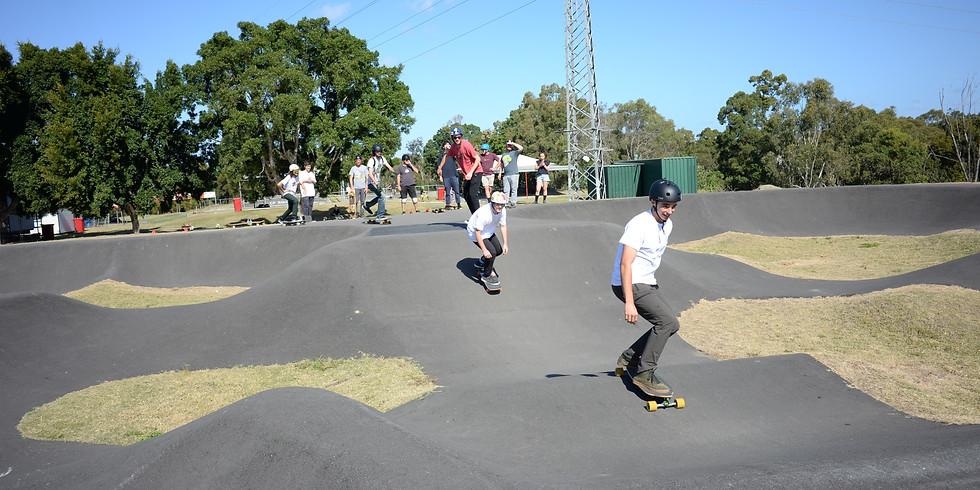 KRANK - Learn How to Longboard - Pump Track - 11-17 Yrs