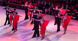 Latin formation Team Ballroom Dancing Baltimore