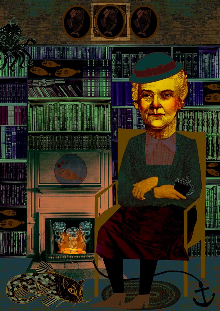 Rebecca Hendin: Bookseller's Wife