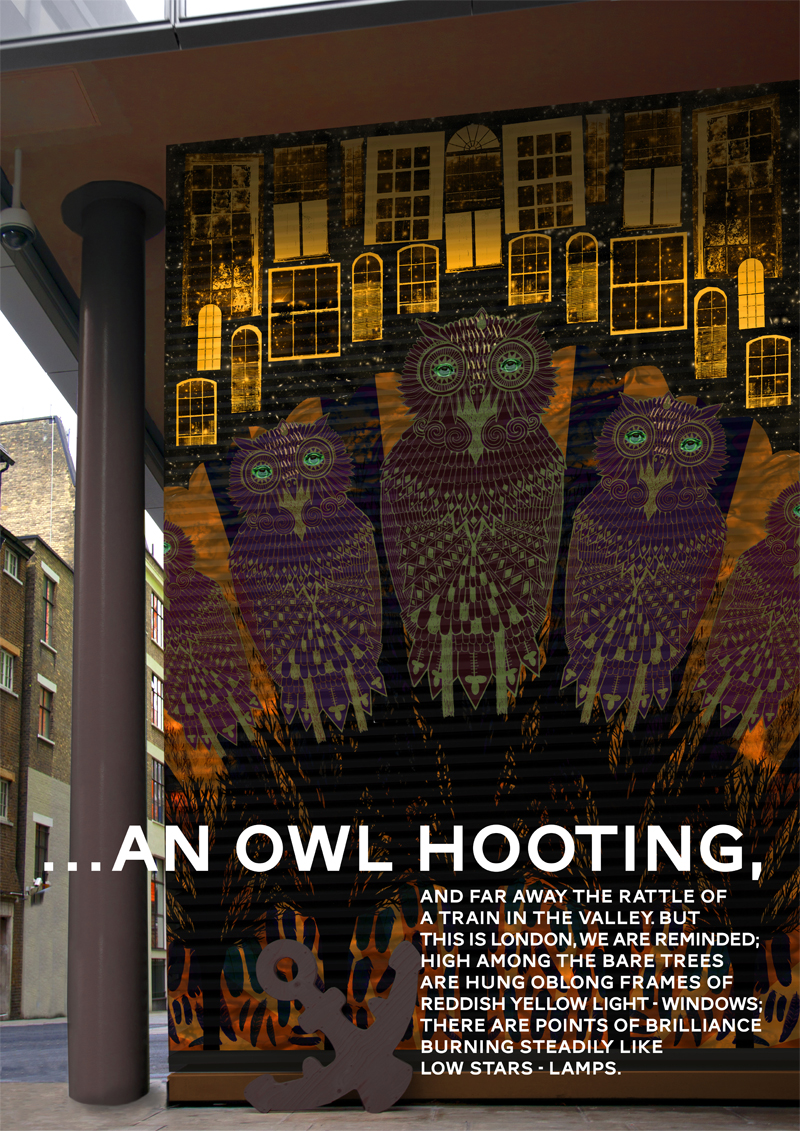 Rebecca Hendin:: Owls