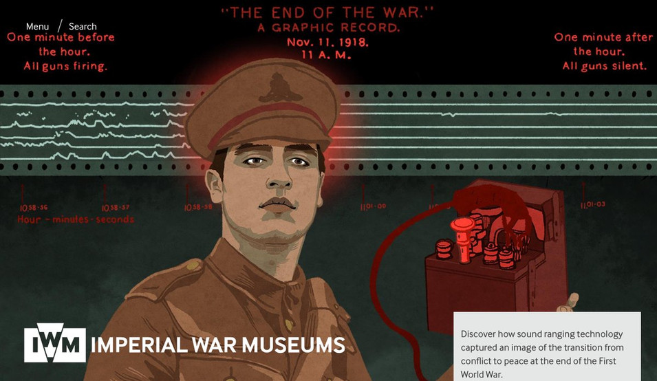 rebecca-hendin-imperial-war-museum-sound-ranging-website-screenshot