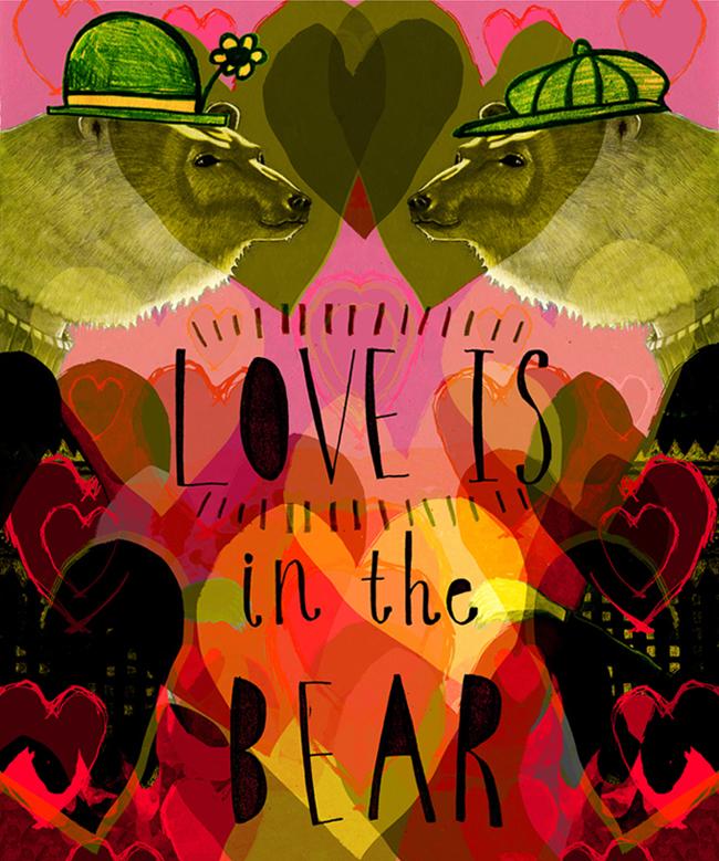 Rebecca Hendin: Love is in the Bear