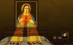 rebecca-hendin-illustration-buzzfeed-sacred-heart-room-irish-gay-marriage-refere