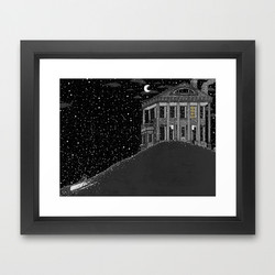Rebecca Hendin: Winter Lights Print