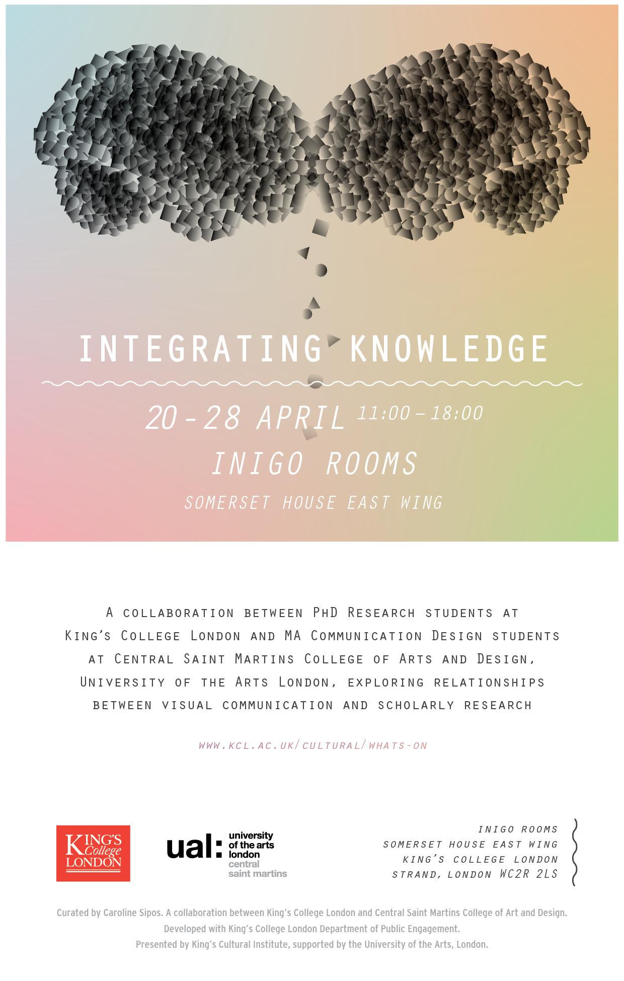 'Integrating Knowledge' invite