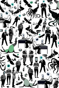 Eye Spy (full art) by Rebecca Hendin